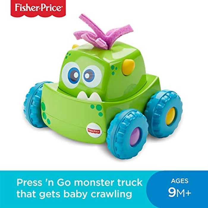 Fisher-Price DRG15 Press-N-Go Monster Truck - Save £2.99