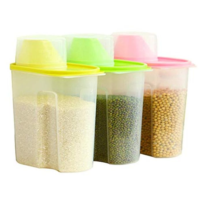 YENJOS Transparent Plastic Sealed Fresh-Keeping Food Storage (use code or promo)