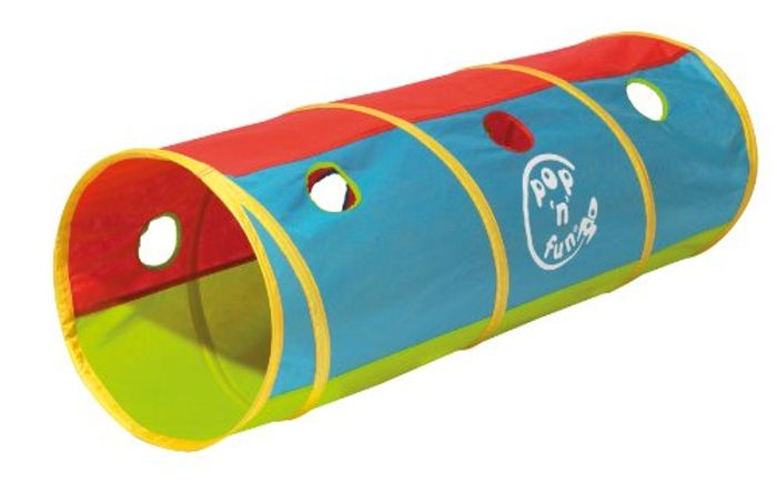Pop Up Play Tunnel by Kid Active Only £8 Delivered