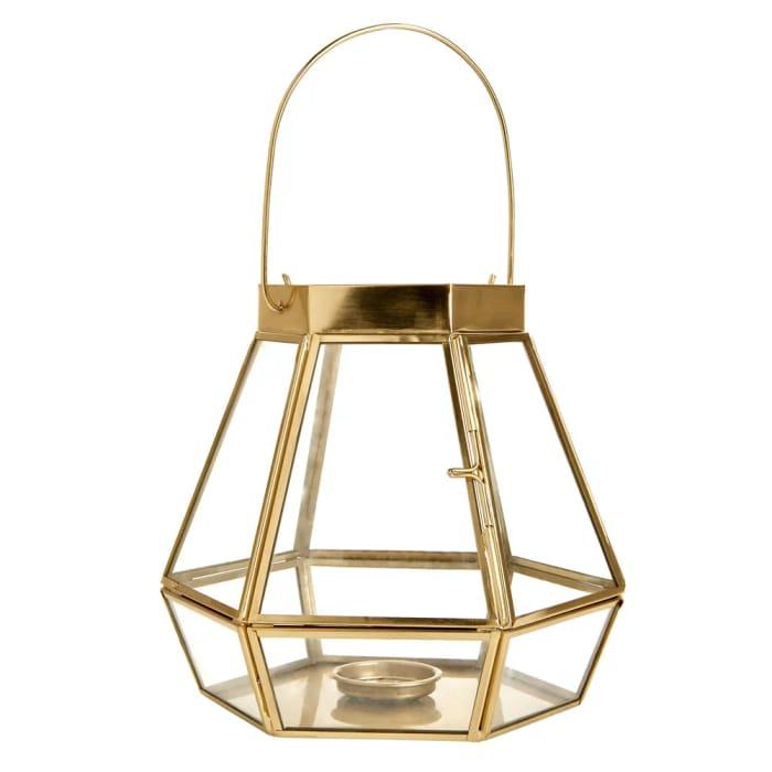 *HALF PRICE* Wilko Glass and Metal Lantern Free C&C