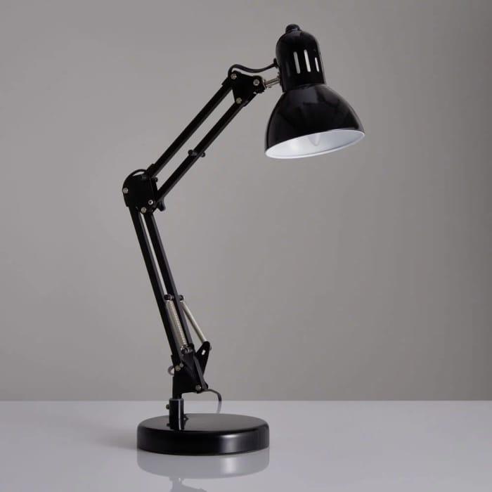 Wilko Black Angle Lamp Free C&C