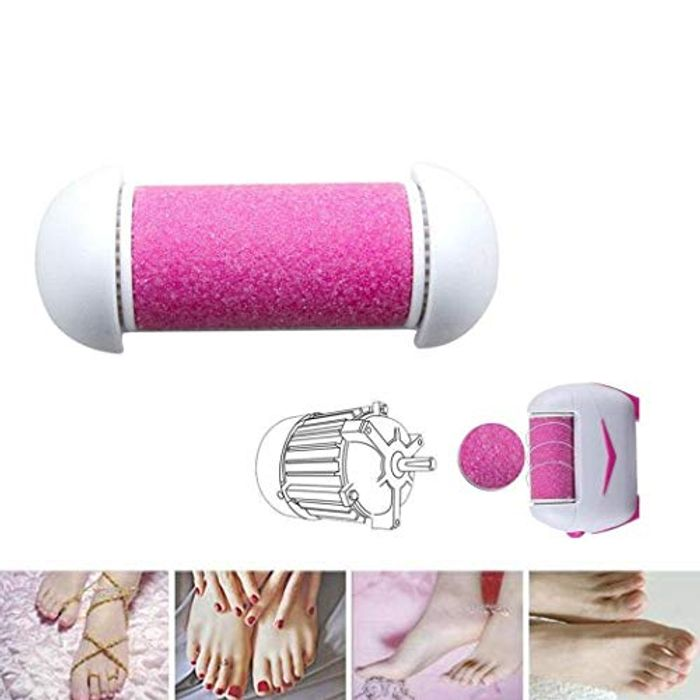 Durable Electric Foot Grinding Roller Head Foot Care Tool