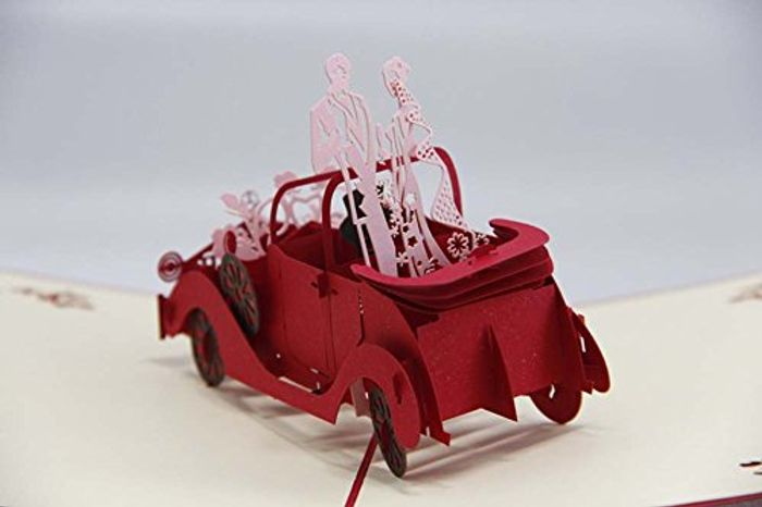 Really Cool 3D Pop up Cards for Weddings/ Birthdays Etc