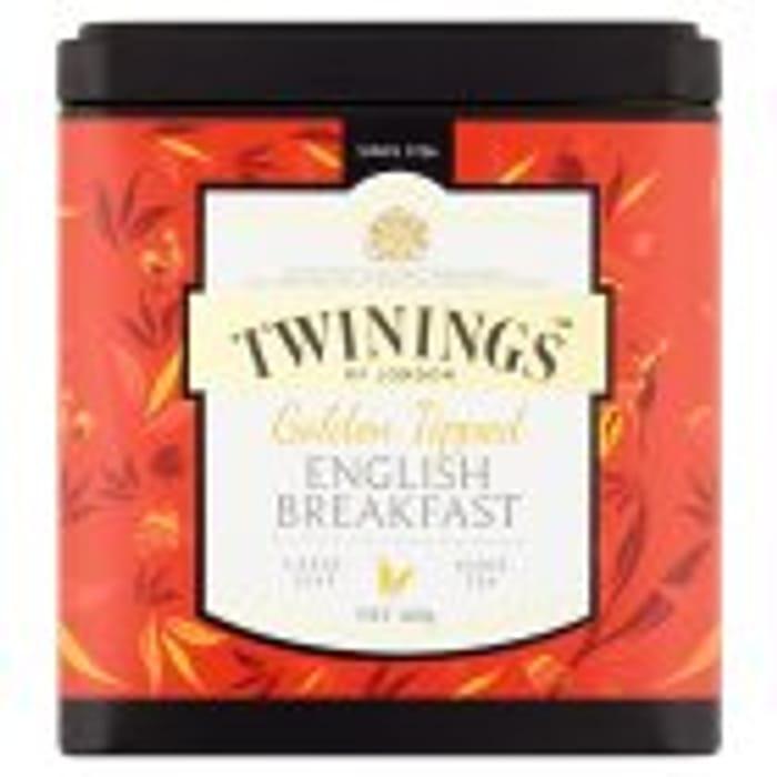 Twinings Gold Tip English Breakfast Loose Tea 100g