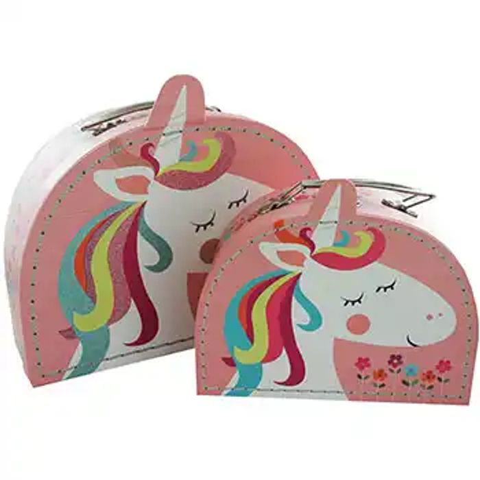The the Works Buy 2 for £10 Unicorn Storage Cas