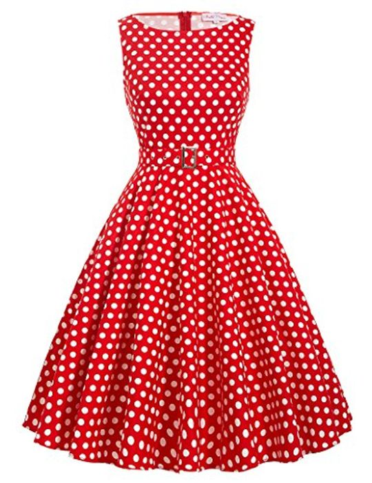 Vintage Style Cute Dress - Save 75%