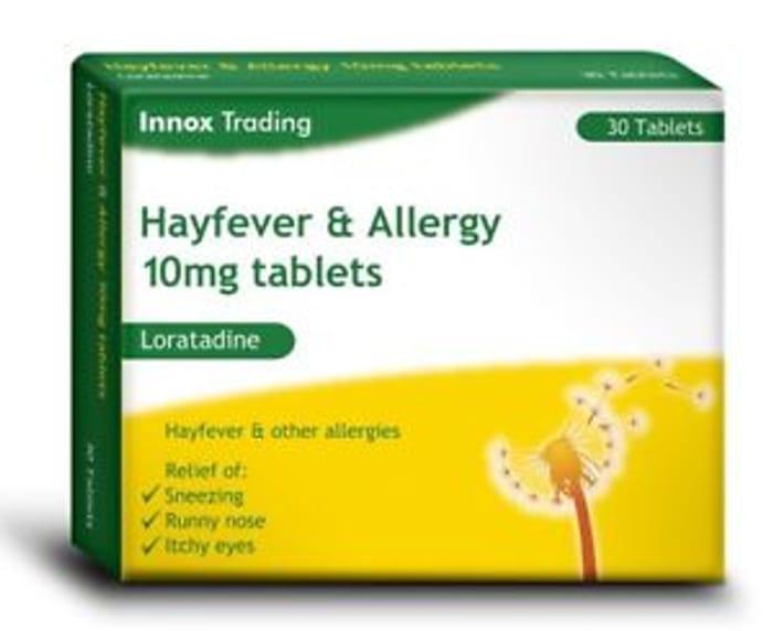 Hayfever Tablets 30 Days