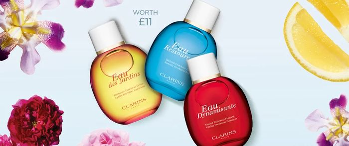 Clarins | Free Bestselling Treatment Fragrance in 30ml on All Orders!