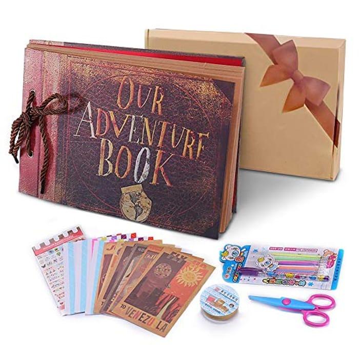 Our Adventure Book Pixar up