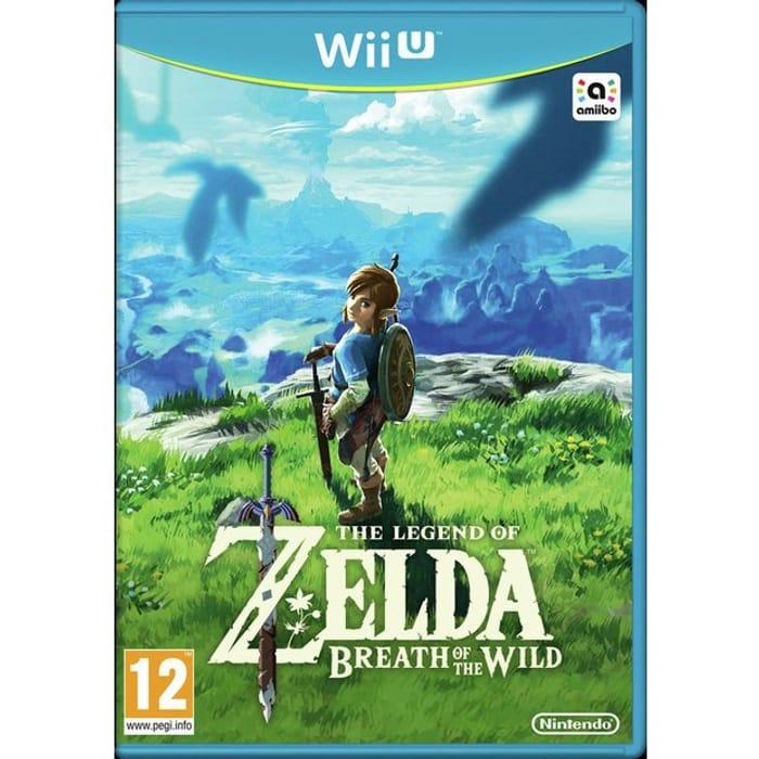 Legend of Zelda: Breath of the Wild Wii U Gameby Zelda