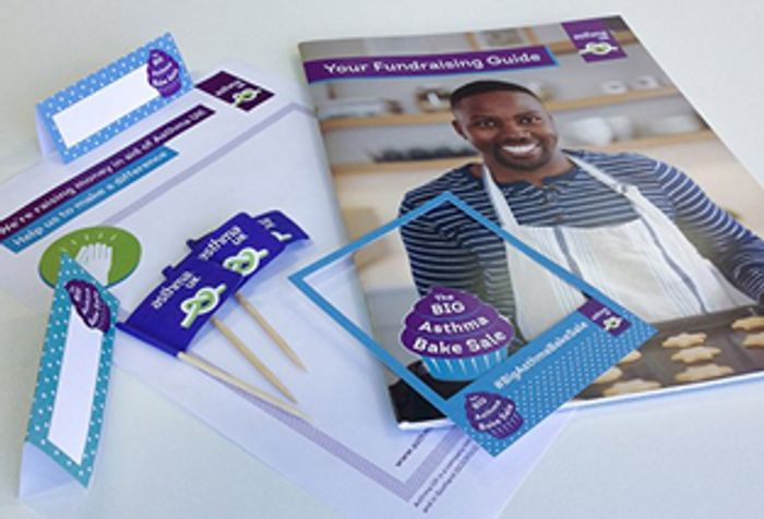 Free Big Asthma Fundraising Pack in the Post.