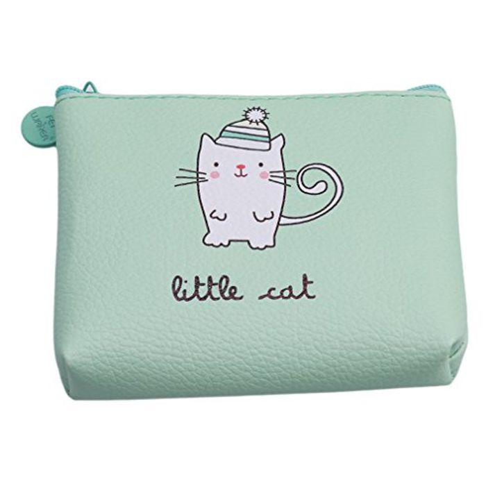 Lalang Girls Purse Cartoon Little Cat