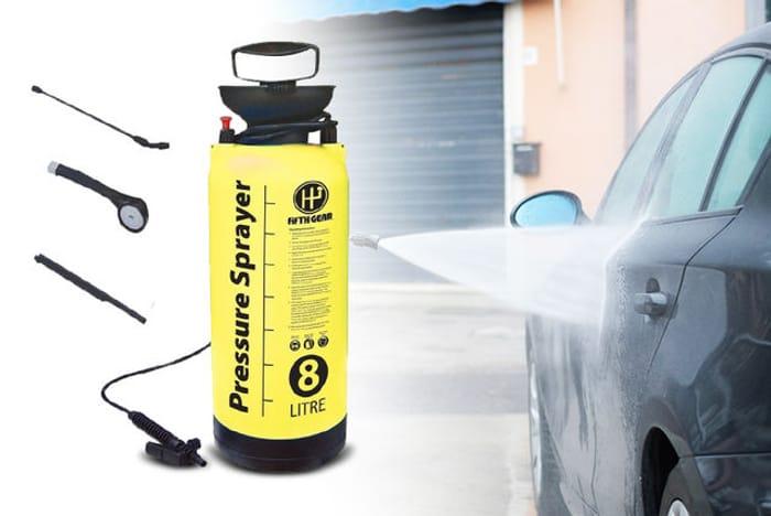 8L Garden High Pressure Sprayer - Save 70%