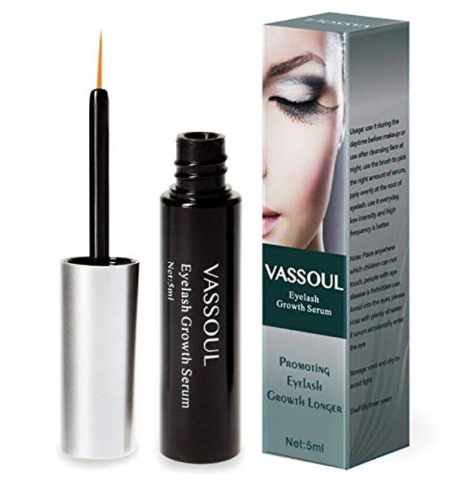 Eyelash Growth Serum for Lash and Brow Irritation Free Formula by Silksence