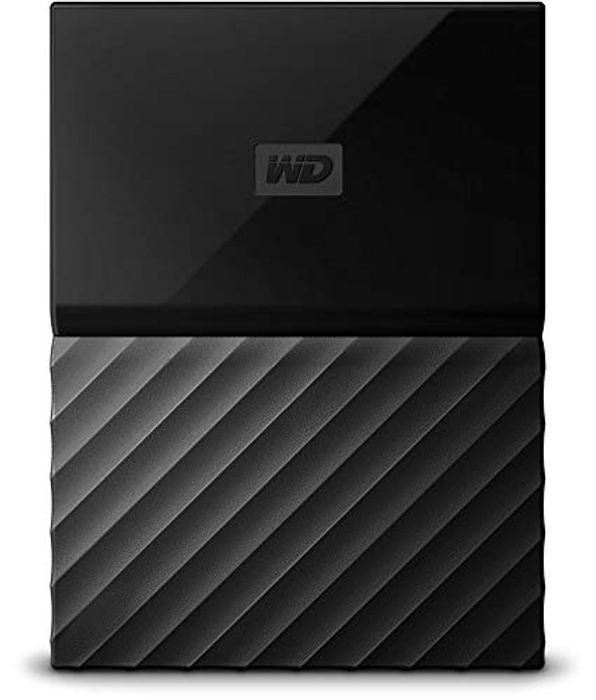 WD My Passport 3 TB Portable Hard Drive for PC, Xbox One, PlayStation 4 - Black