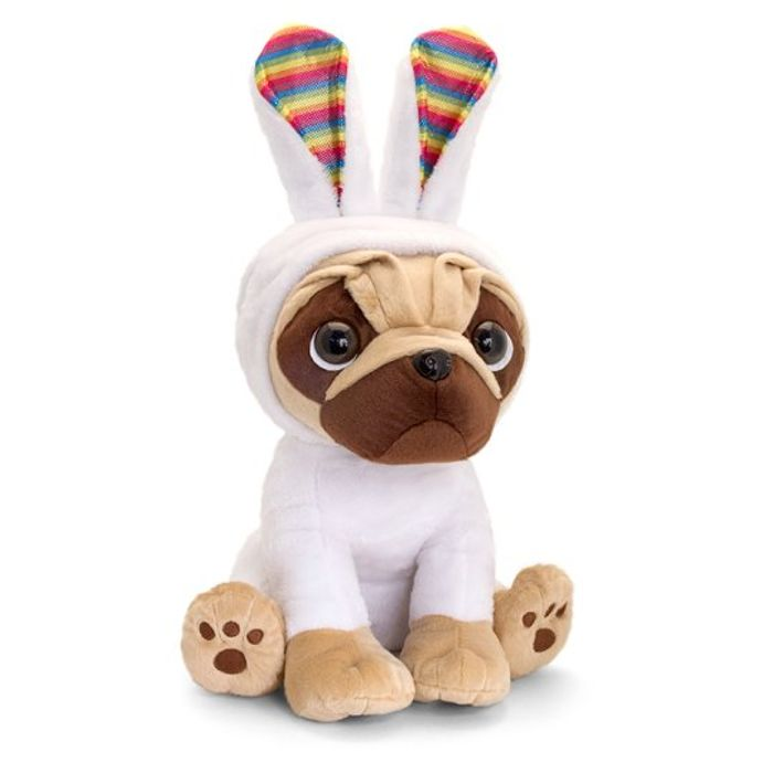 Giant Pugsley in Bunny Onesie HALF PRICE
