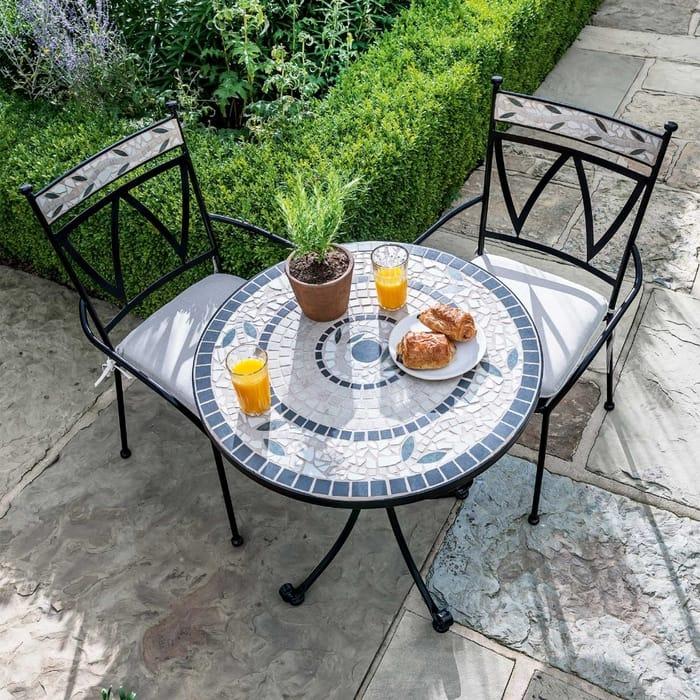 Sunbury Bistro Metal Garden Furniture Set