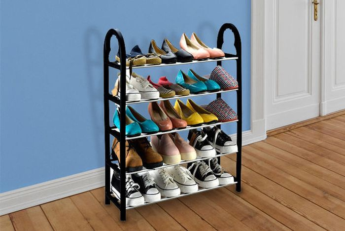 Five Tier Shoe Rack - Save 76%