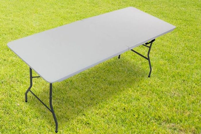 Get Outdoors 6ft Folding Heavy Duty Outdoor Table