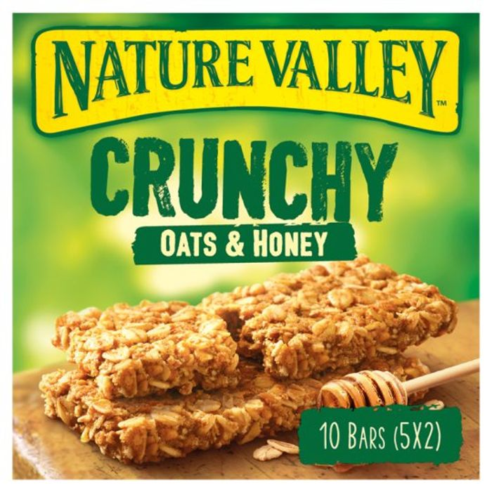 Nature Valley Crunchy Granola Oats and Honey 5 X 42g