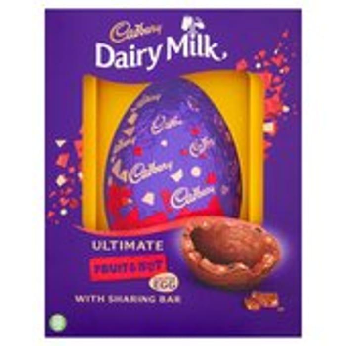 Cadbury Chocolate Fruit & Nut Easter Egg 560g