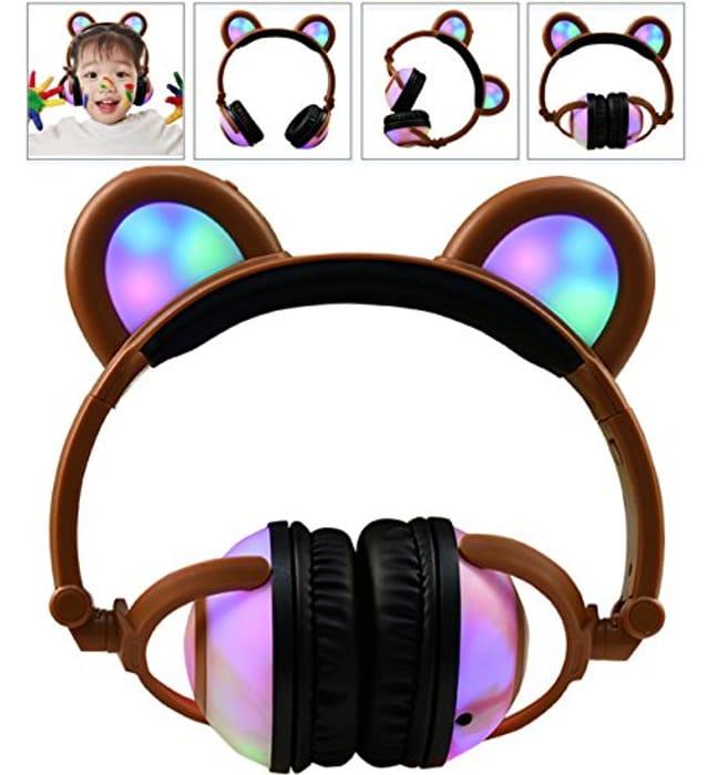 Kids over Ear Led Headphones