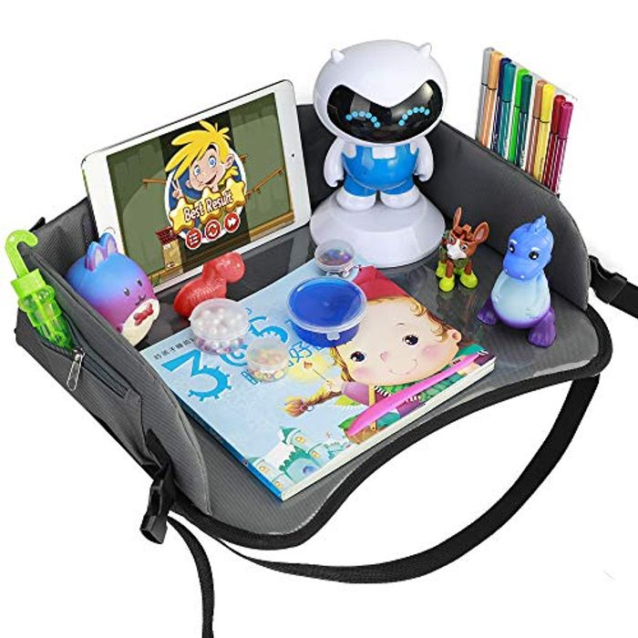 *STACK DEAL* Snack and Play Travel Tray with Dry Erase Top