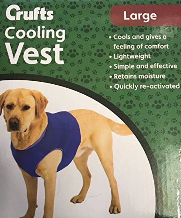 Crufts Pet Cooling Vest in Colour Box, Large
