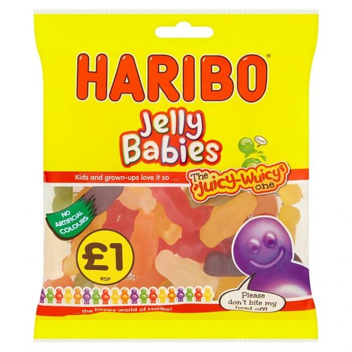 Haribo Jelly Babies, 180g