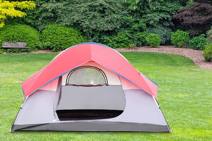 Waterproof 6-Person Camping Tent Down From £170 to £49