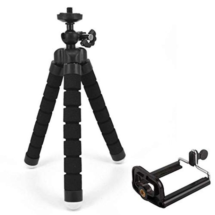 Cicadi New Phone Tripod Portable and Adjustable Holder Stand Only £1.89