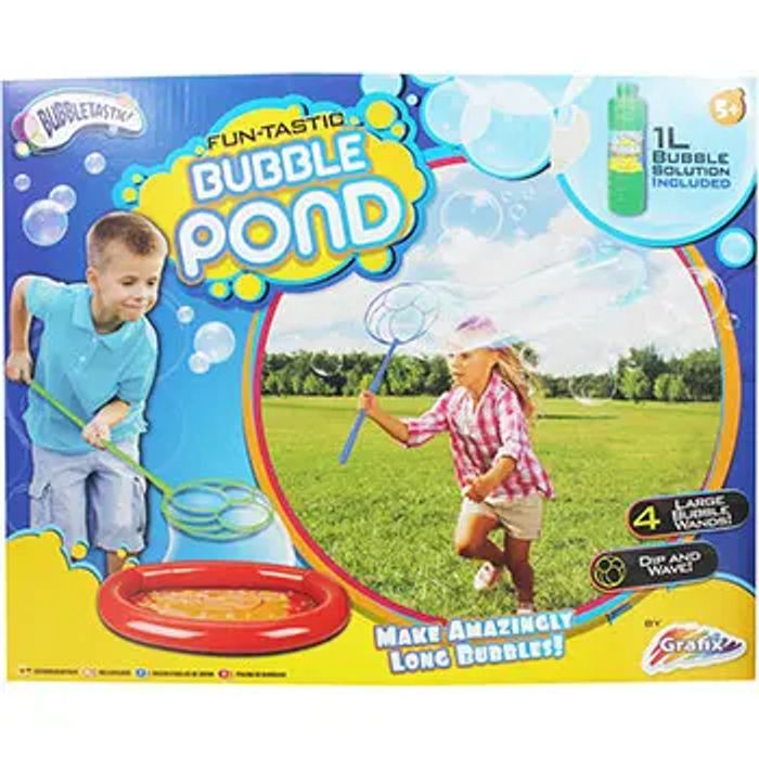 Fun-Tastic Bubble Pond at The Works