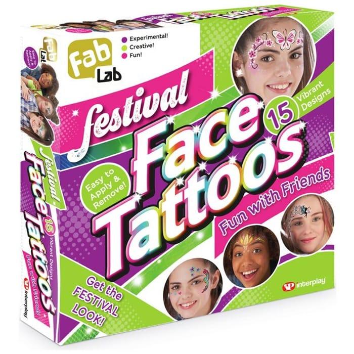 FabLab Festival Face Tattoos Fun