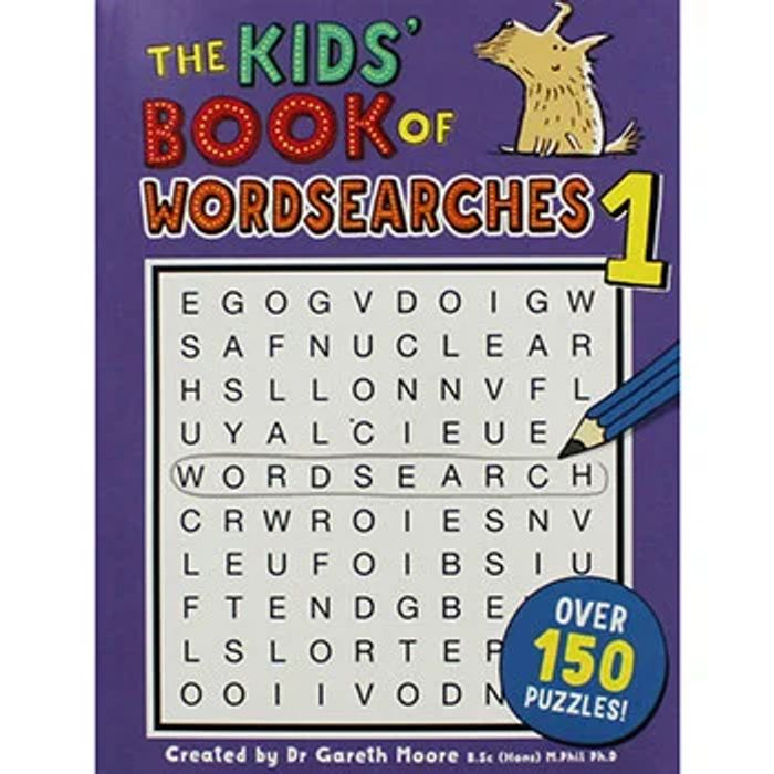 The Kids Book of Wordsearches 1