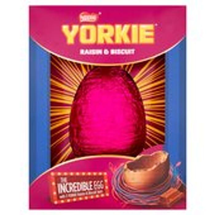 Yorkie Incredible Easter Egg 522g