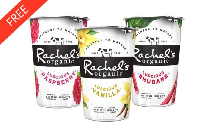 Rachel's Organic Luscious Yogurt 450g - Checkoutsmart (Cashback) (Sainsbury's)
