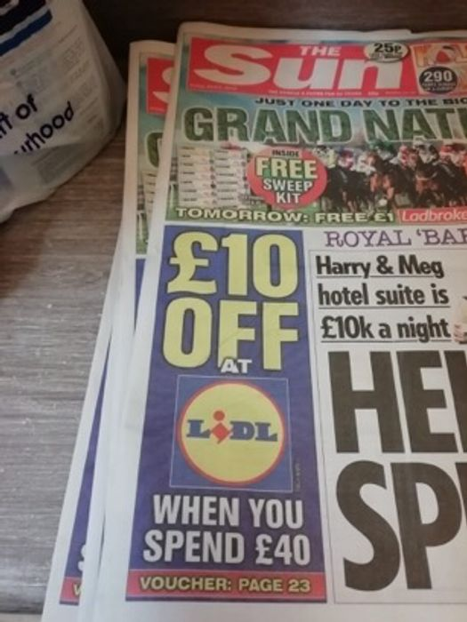 Lidl £10 off When You Spend £40 Coupon in the Sun