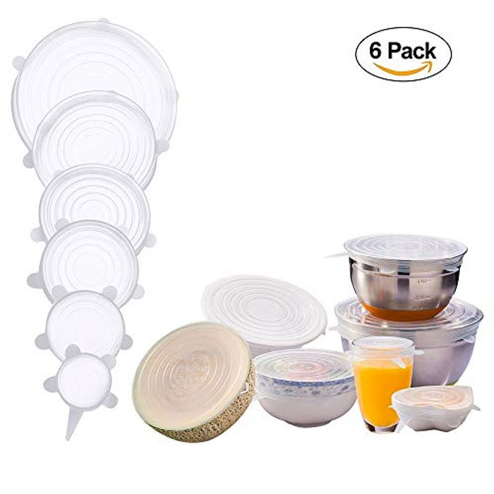 50% off Ventertop 6 Pack of Stretch Silicone Lids - Half Price