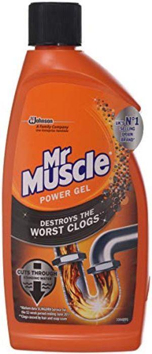 """""ADD ON"""" Mr Muscle Max Gel Unblocker 500 Ml (Pack of 2)"