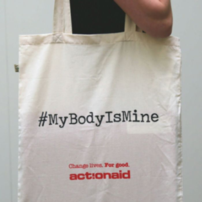 FREE Cotton Tote Bag from Action Aid