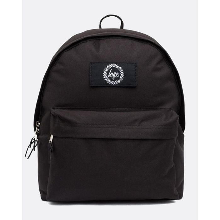 Hype Insignia Black Backpack