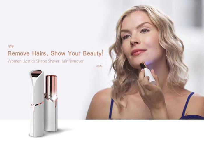 Mini Women Lipstick Shape Shaver Hair Remover