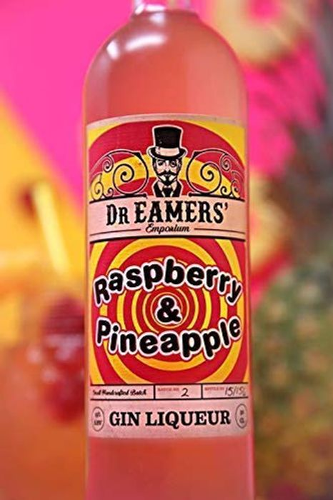 Dr. Eamers Raspberry and Pineapple Gin