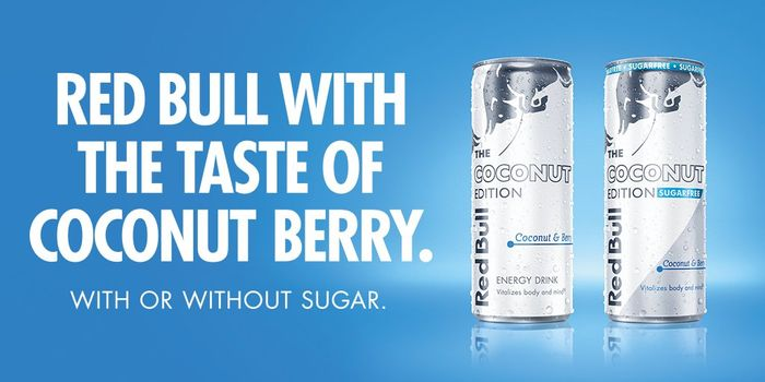 Coconut Berry Red Bull in Store is on a 2 for £2 OFFER!