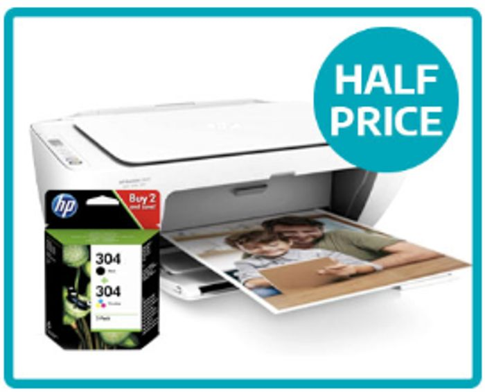 Half Price HP Printer & Ink Bundle