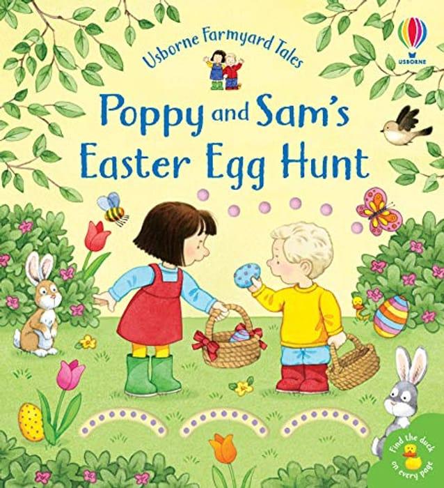 Usborne Poppy and Sam's Easter Egg Hunt Book