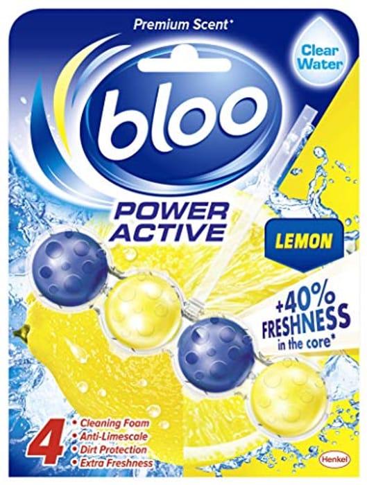 Bloo Power Active Lemon Toilet Rim Block 50 G