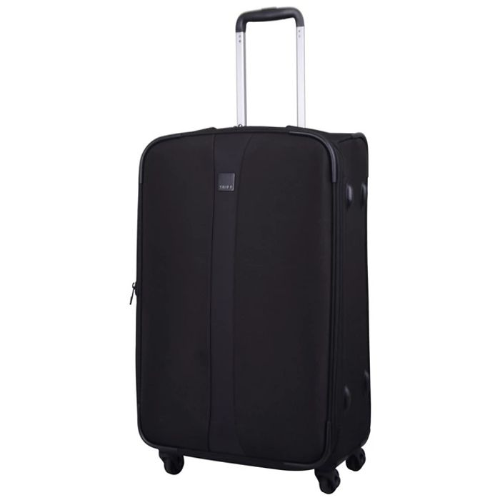 Tripp Black 'Superlite 4W' 4 Wheel Medium Suitcase - SAVE £52.00