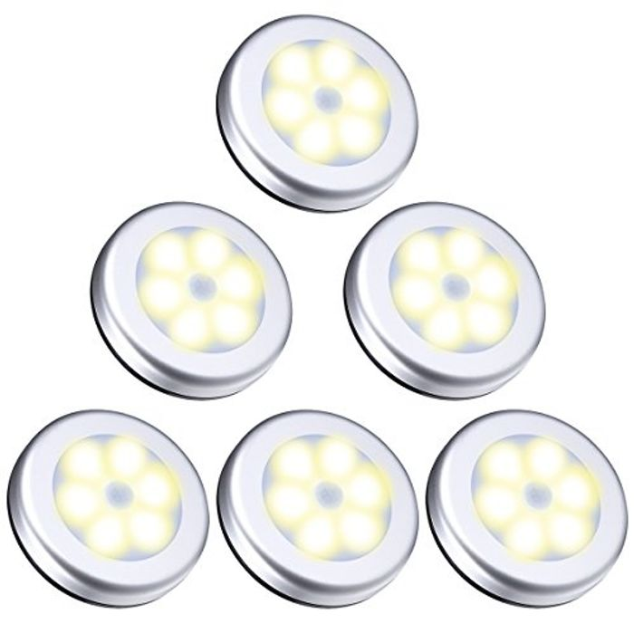 Oria Motion Sensor Light, Cordless Battery-Powered Light, Automatic