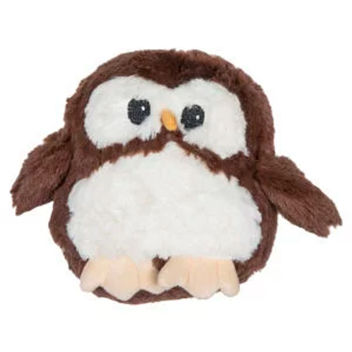 1/2 Price : 3D Child's Brown Owl Cushion 20cms Now 50%off@ the Range
